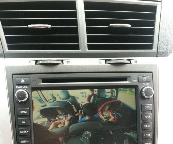Rear Facing Car Seat Video Display