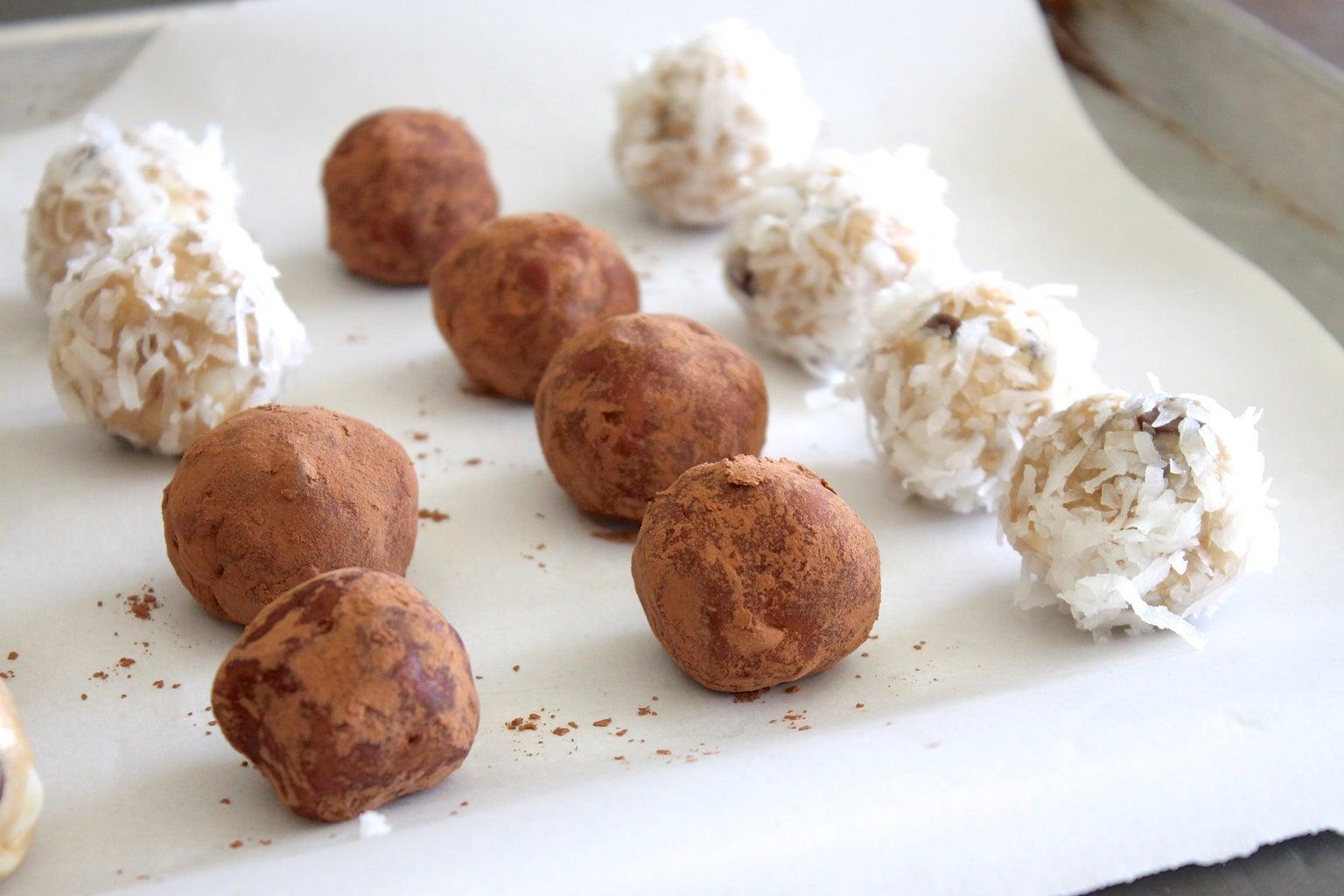 Make Them Bite Size to Store + Truffles