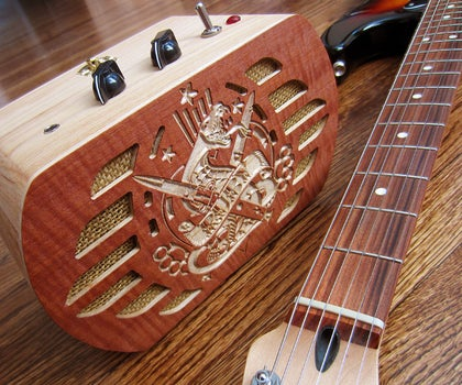 Guitar Amp From Jewelry Box