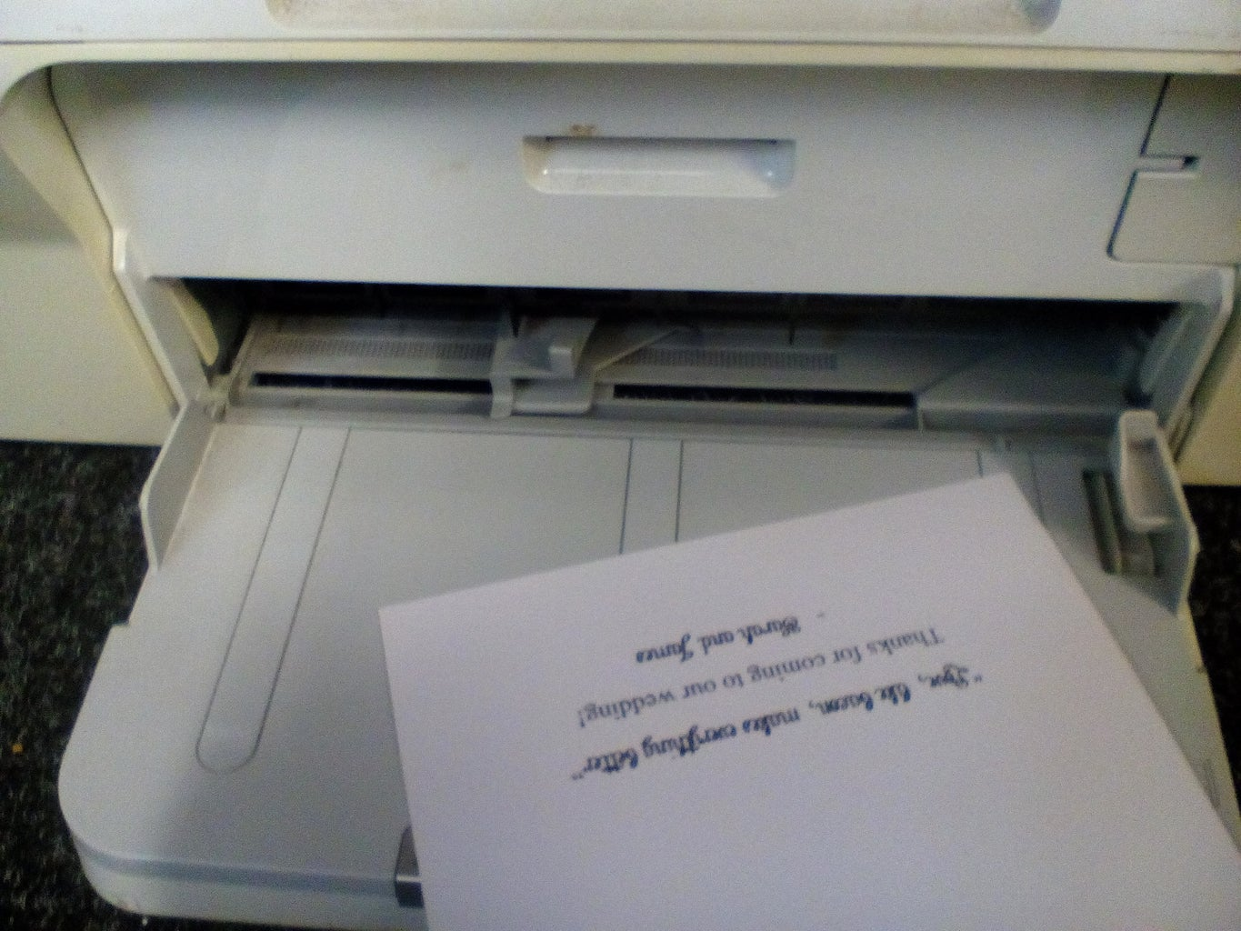 Print Your Fortunes (or Quotes, or Whatever!)