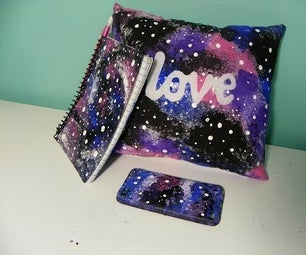 DIY Galaxy-Painted Gifts