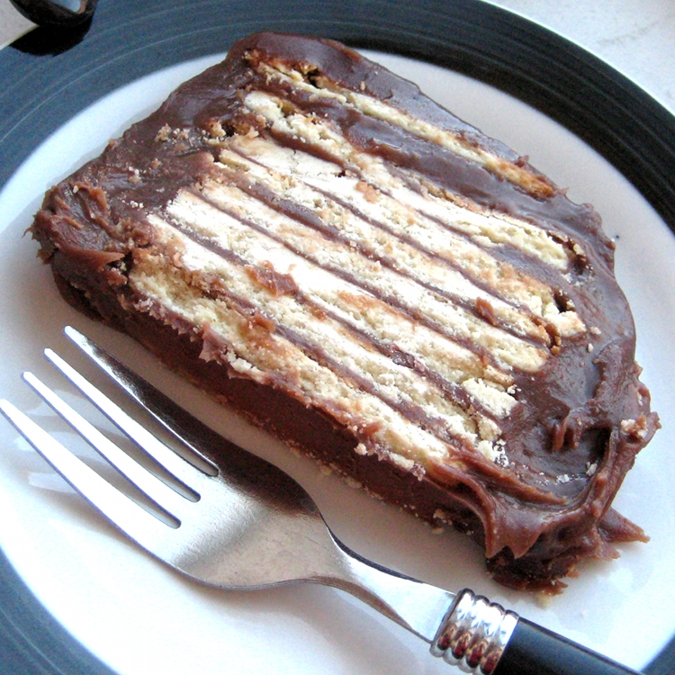 Zebra Cookie Cake