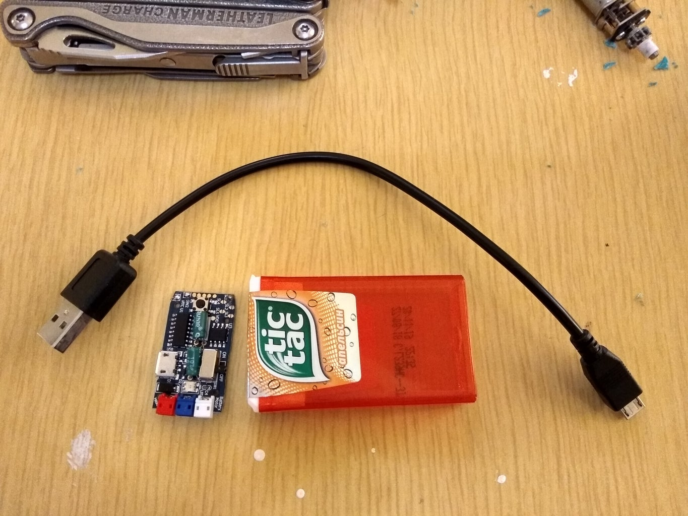 Building the Battery Charger
