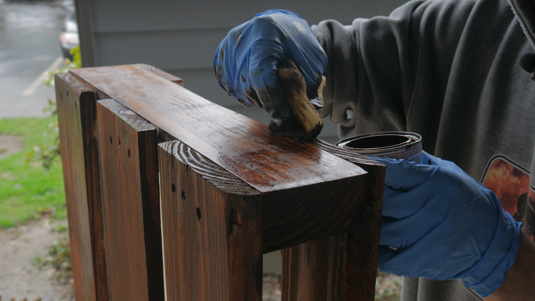 Staining the Table