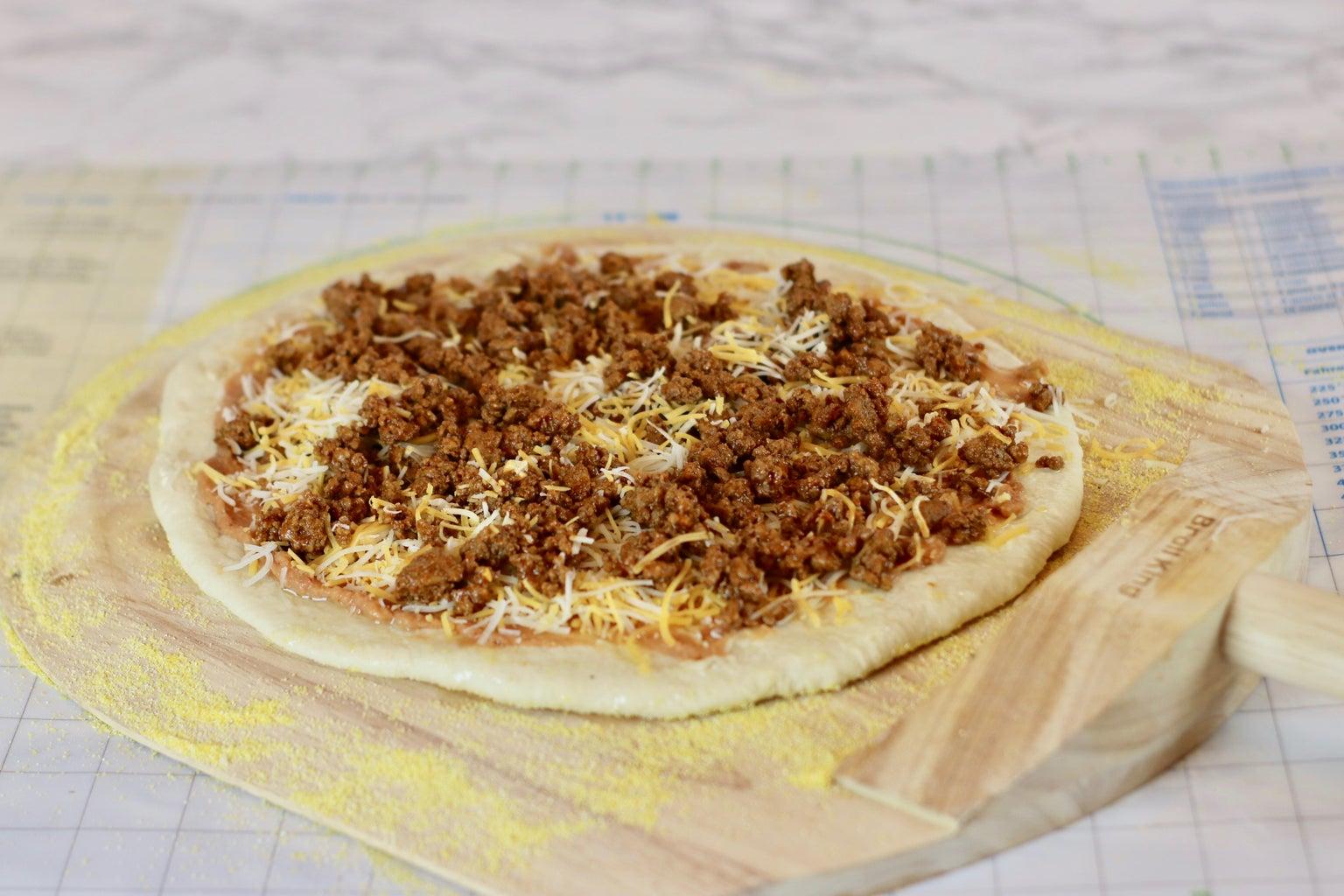 Recipe 2: Taco Pizza