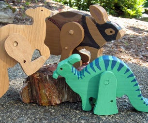 Designing Hopping Animal and Comic Book Character Toys