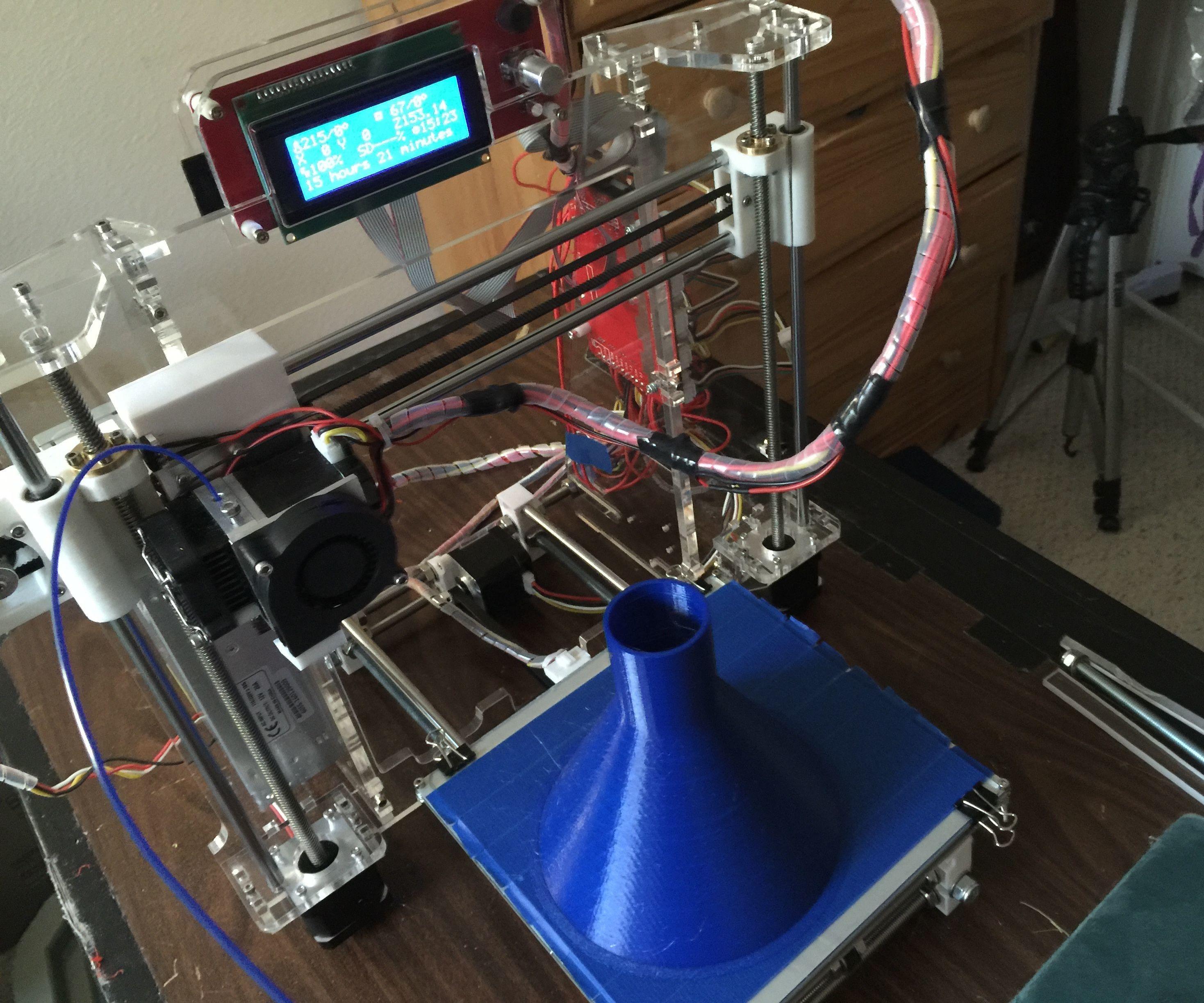 Budget 3D Printer Fixes and Enhancements