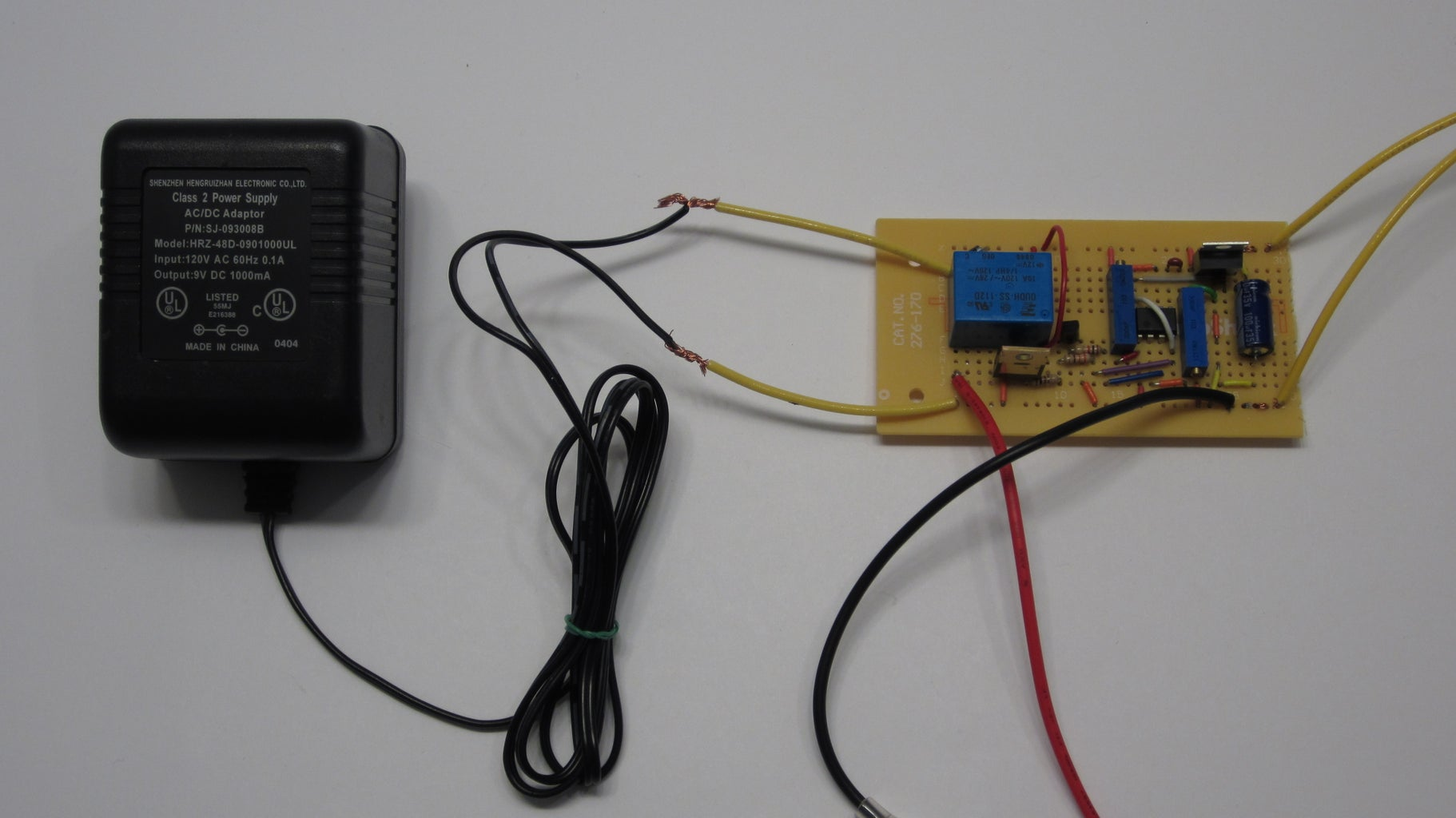 Optional Testing With a DC Power Supply