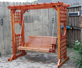 DIY Swing With Arbor