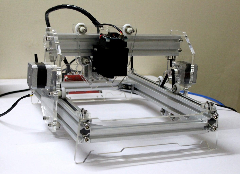DIY 5500mW Laser Engraver / Cutter