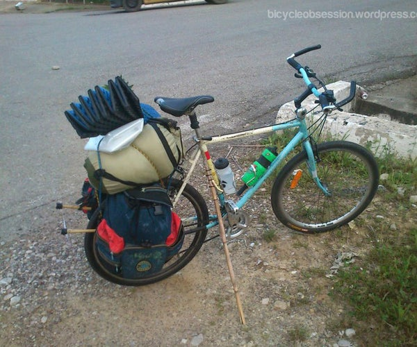 Turn a Piece of Reed Cane Into World's Greatest DIY Bike Stand (with Unlimited Uses)