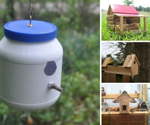 Bird Houses Shared by Gregory Grookett