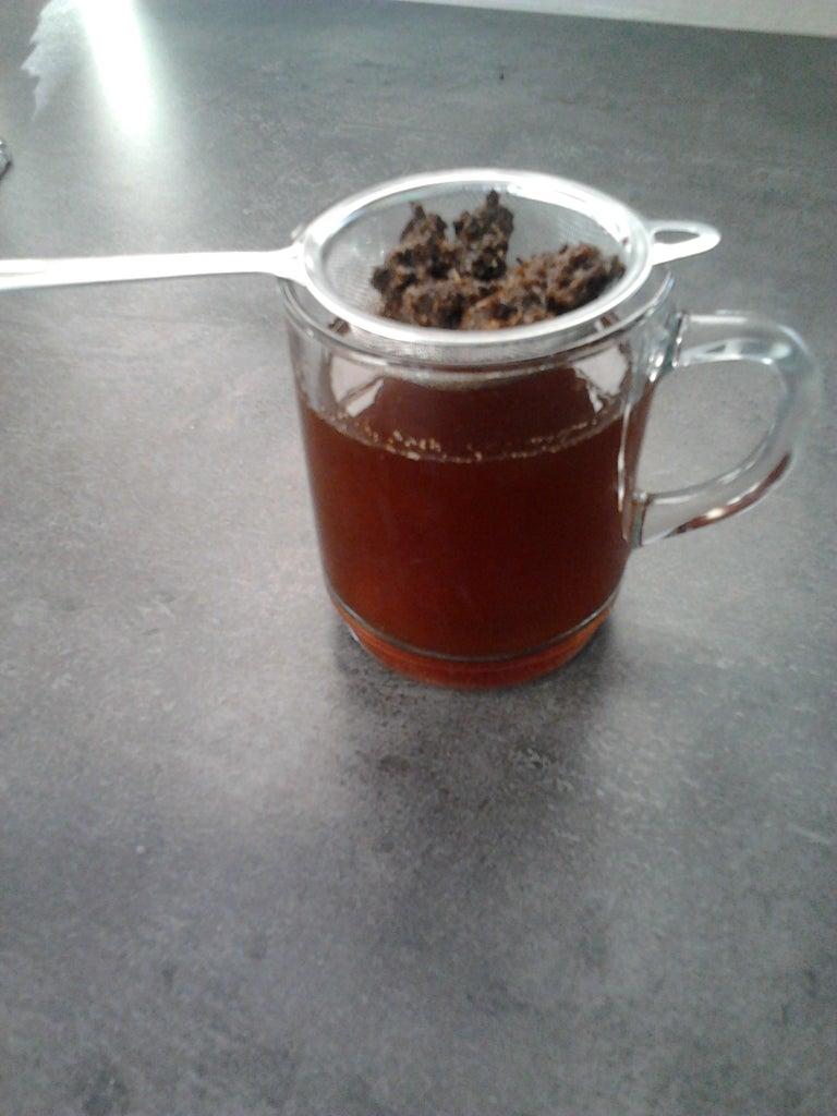 Homemade Dandelion Coffee.