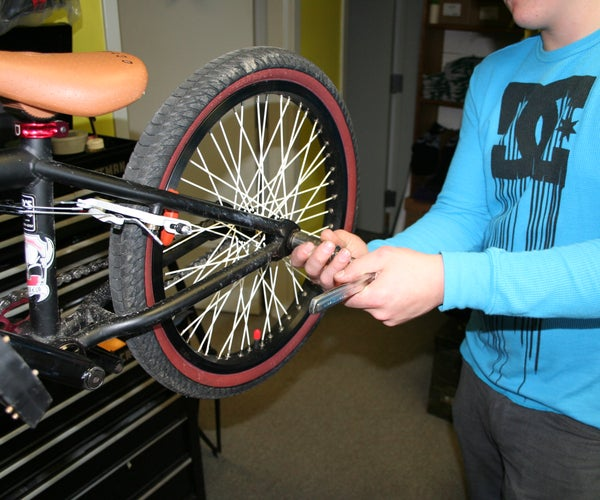 Changing a Bicycle Tube
