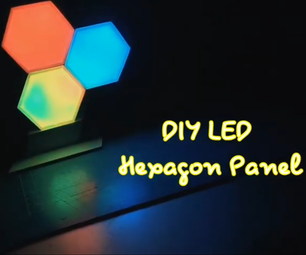 DIY Project ARGB LED Hexagonal Panel