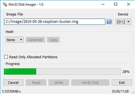 Install Raspbian OS