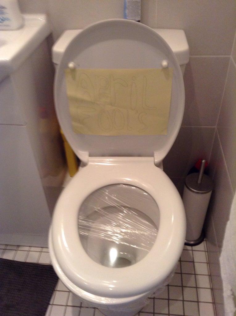 Toilet Seat Prank