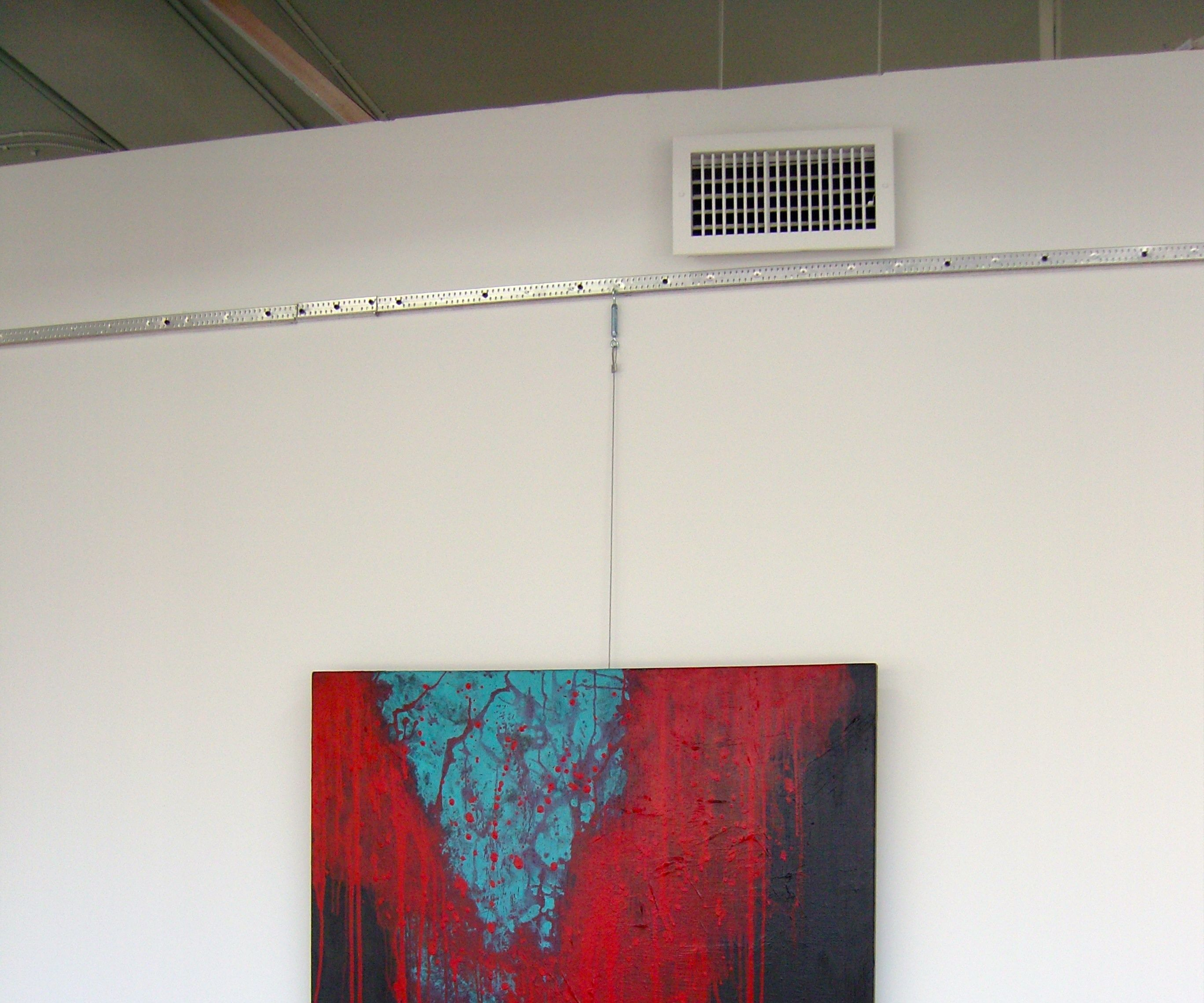 'No More Holes in the Wall' Art & Picture Hanging System