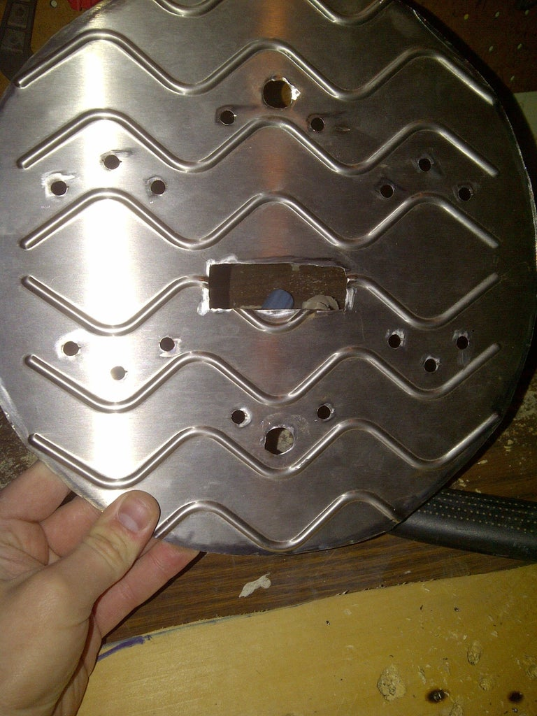 Cutting New Soundholes and Coverplate