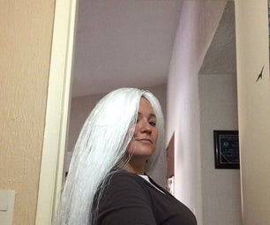 Affordable DIY Halloween Wig