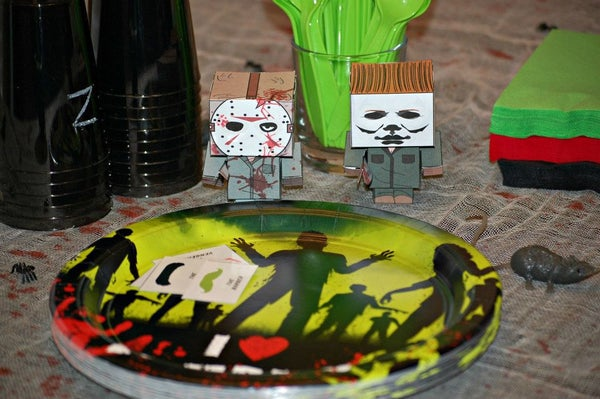 Zombie/ Horror Movie Themed Birthday Party Games