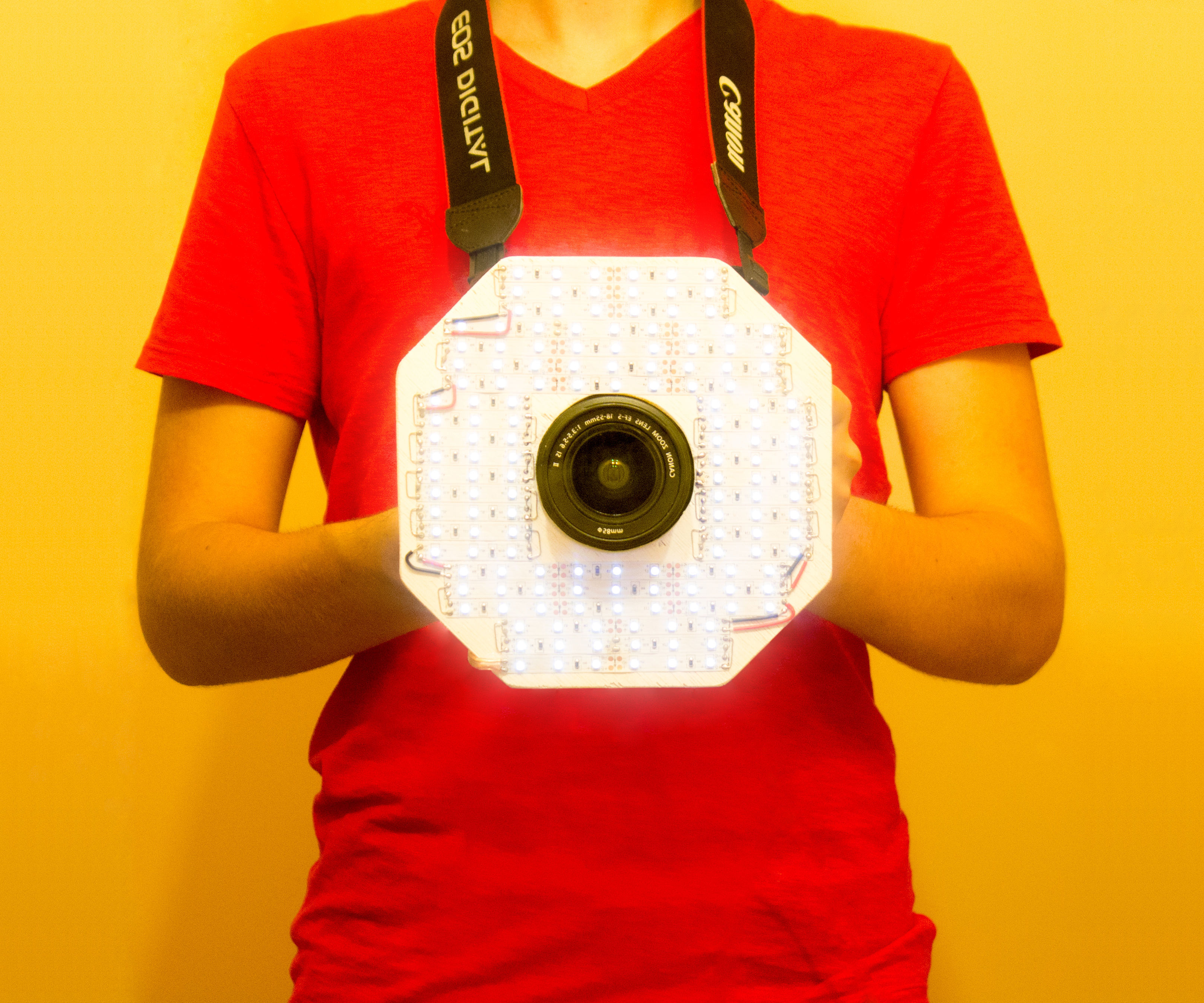 Octo-Light: LED Camera Ring