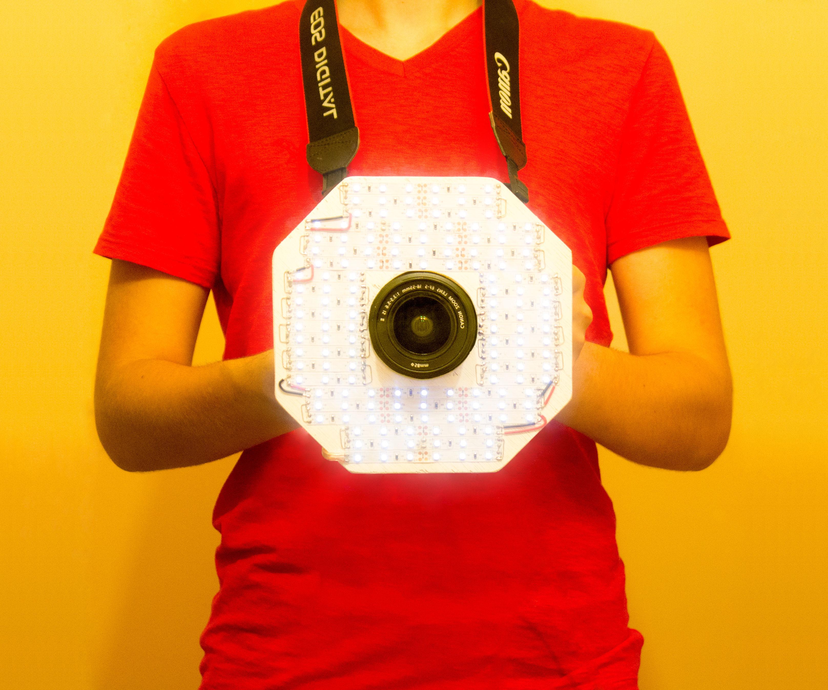 Octo-Light: LED Camera Ring