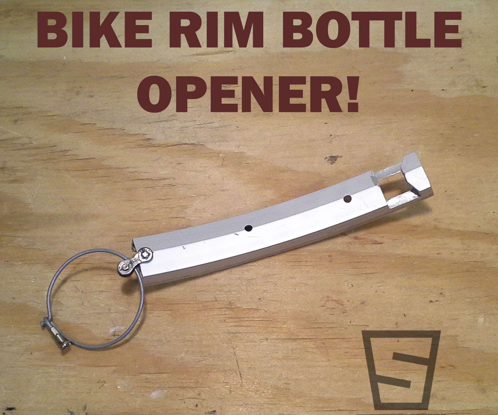 How to Make a Bike Rim Bottle Opener