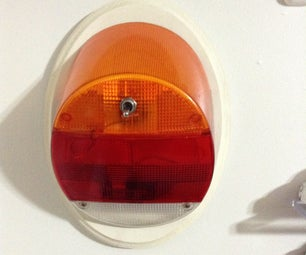 VW Taillight Lamp
