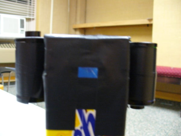 Juice Box Pinhole Camera