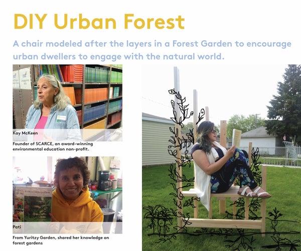 DIY: Urban Forest Garden