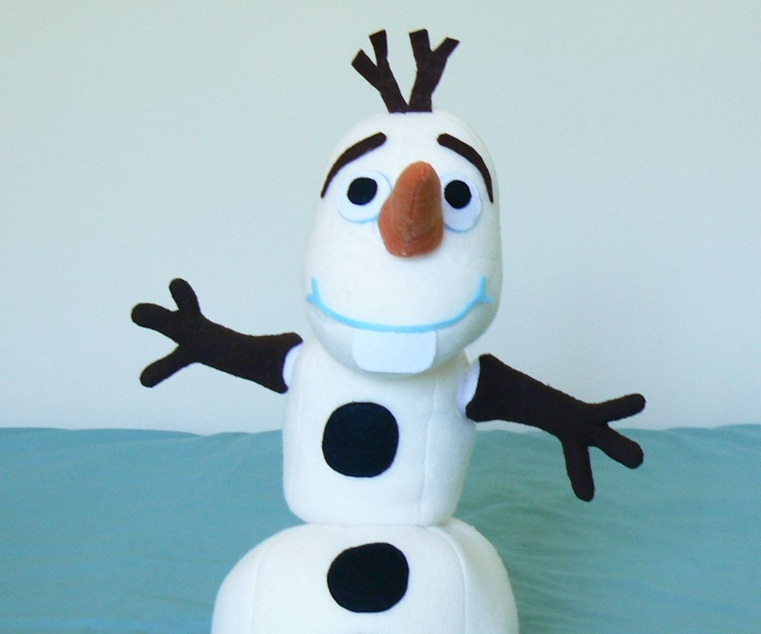 Olaf Build-a-Snowman Plush