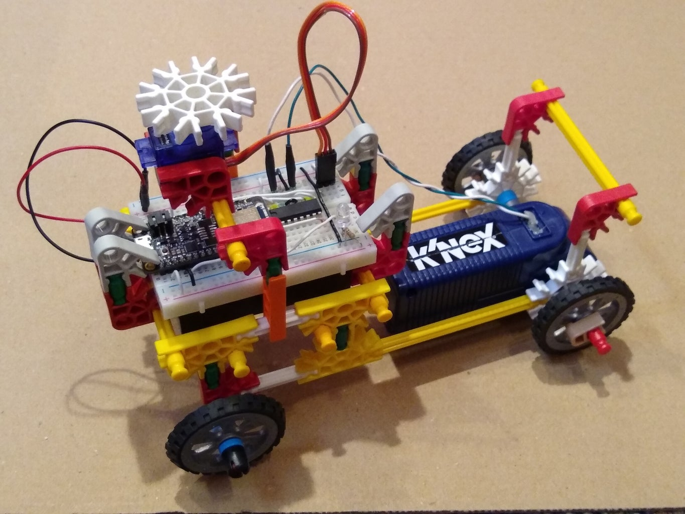Control K'nex With a Mobile Phone
