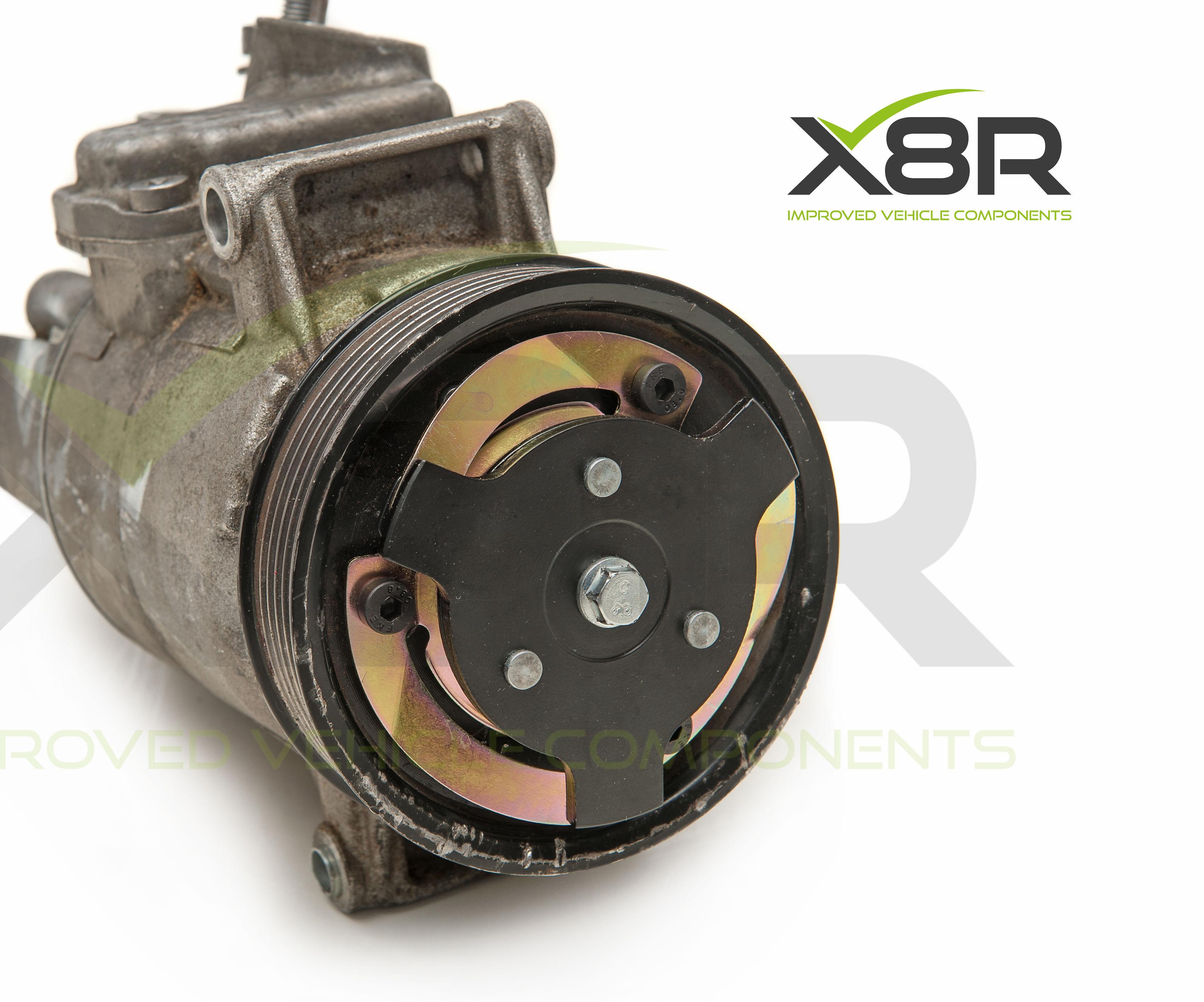 VW Audi Seat Skoda Air Conditioning Compressor Pump Clutch Hub Plate Disc 5N0820803, 5N0820803A, 5N0820803E, 5K0820803A Repair Fix Kit Instructions Install Guide