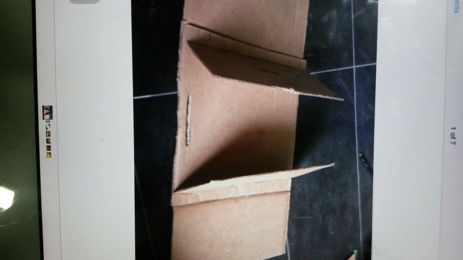 Put All Cardboard Together.