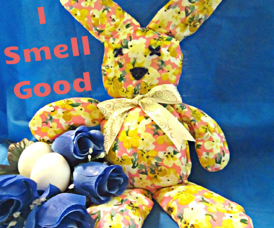 """I Smell Good"" Mr. Bunny"