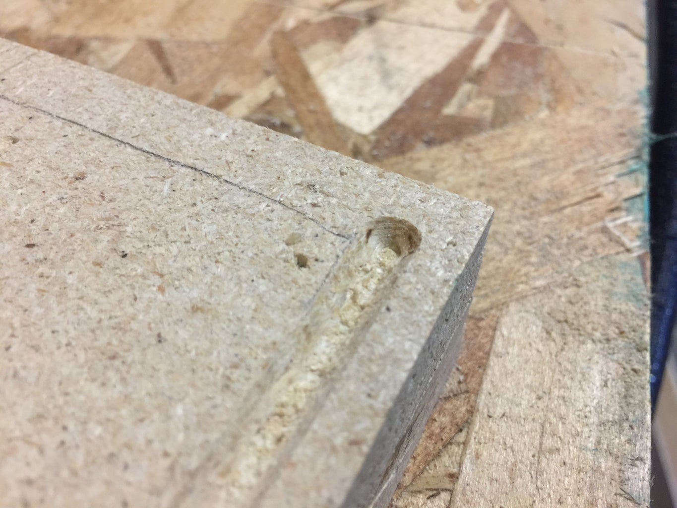 Rout an Underbench Groove