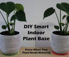 Smart Indoor Plant Monitor - Know When Your Plant Needs Watering