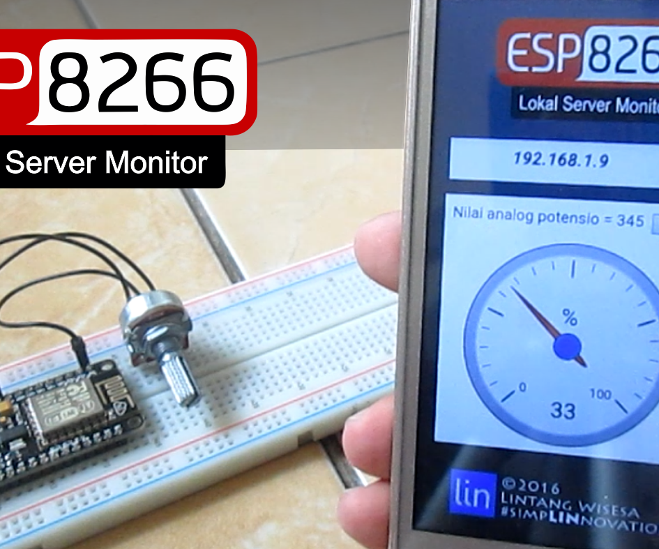 ESP8266 Web Server Monitor & Its Android App
