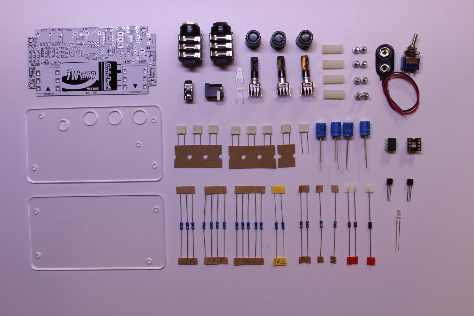 Get and Solder the Components!