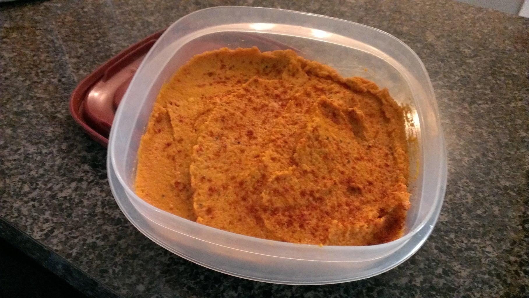 Delicious Hummus Inspired Dip