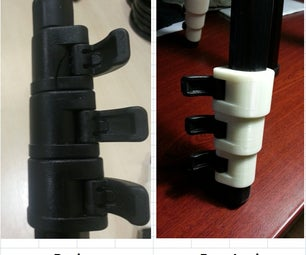 Repair the Leg Locks on Your 728B Manfrotto Tripod W/ 3D Printed Parts