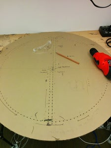 Drilling the Acrylic Base