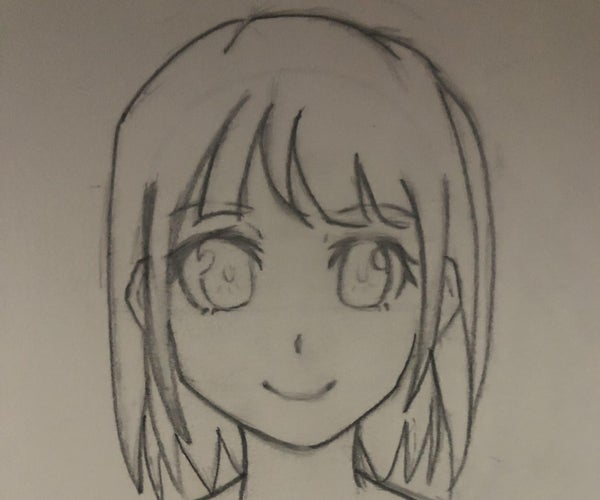 How to Draw: Anime Girl Face