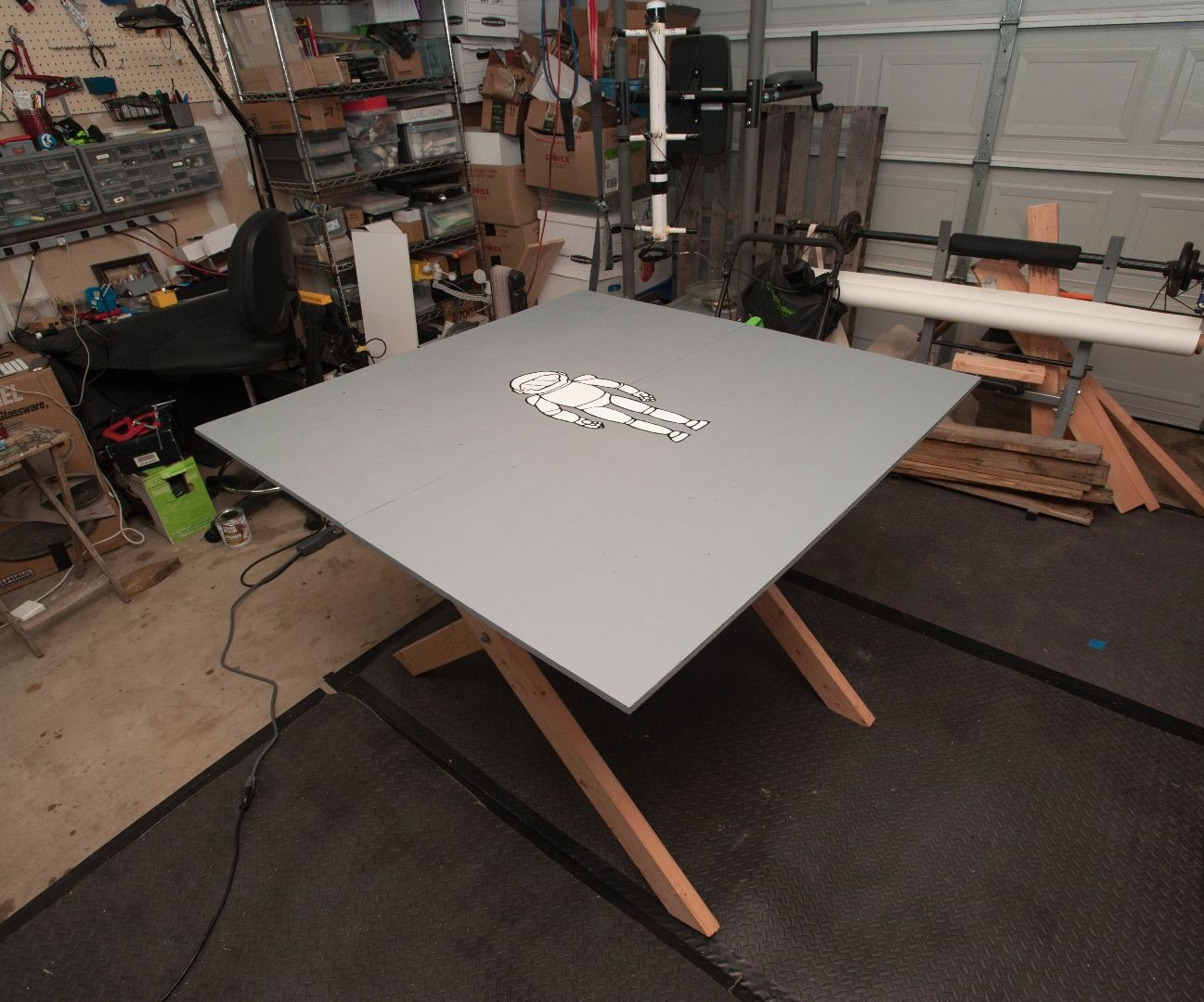 Folding Project Table
