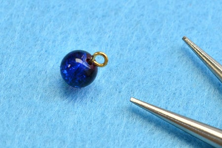 Instruction of Making Glass Beads Earrings: