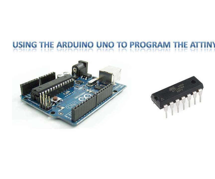 Arduino Uno to Program ATTINY84 (Arduino V. 1.8.5)