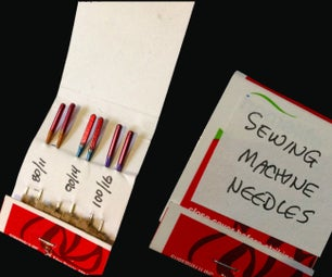 SAFELY ORGANIZE AND STORE SEWING MACHINE NEEDLES