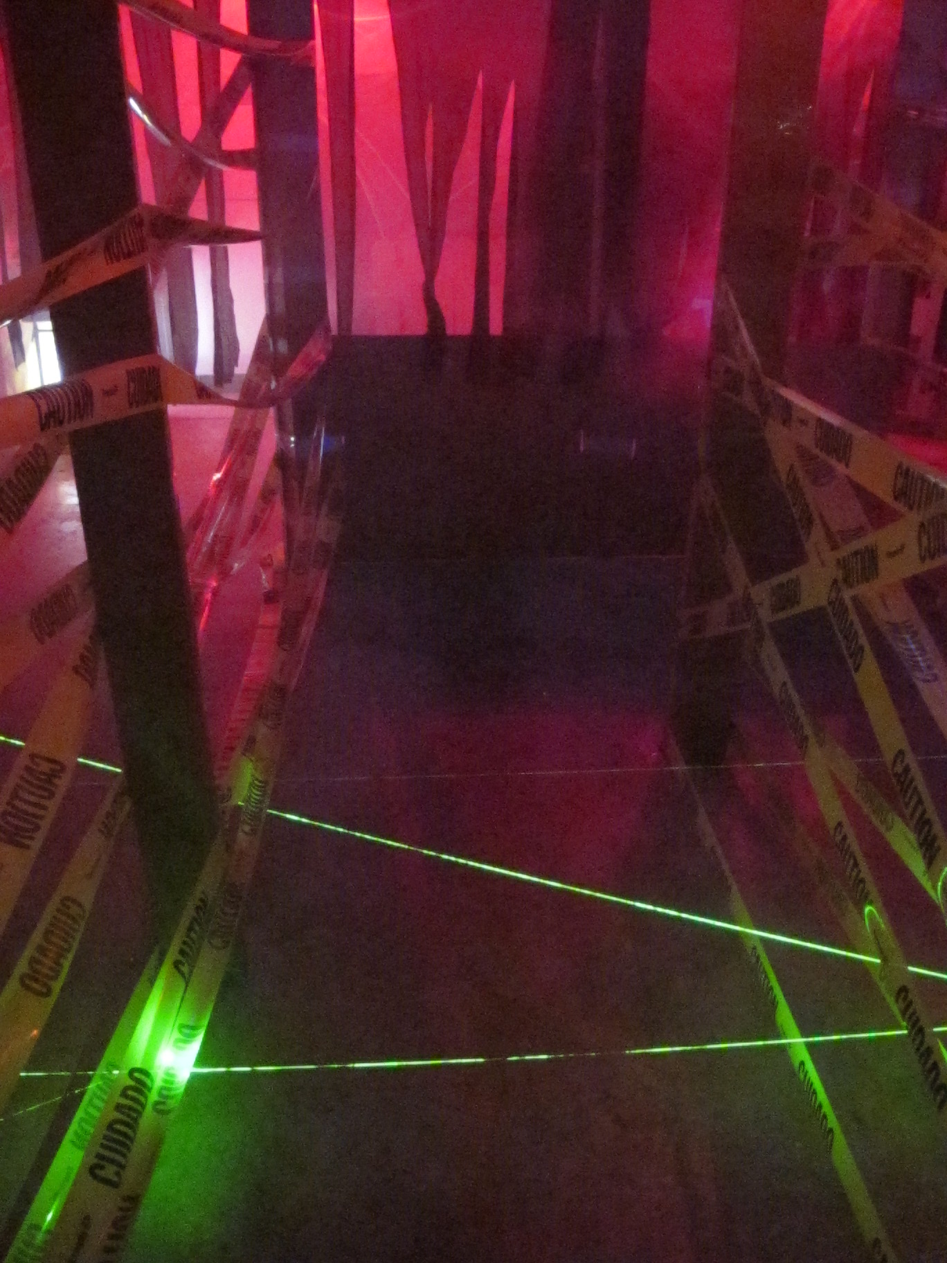LASER Maze - Halloween Haunted House