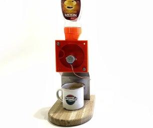 完全无用的咖啡分配器......